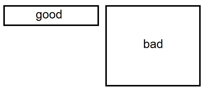 Good test method vs bad test method